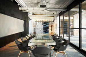 رندر اتاق جلسات مدرن میز سنگ رندر مدرن مینیمال A7AI4707