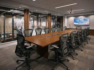 رندر اتاق جلسات مدرن رندر اتاق کنفرانس A7AI4709