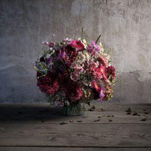 رندر استودیو عکسبرداری کلوزاپ دسته گل A7AI4901