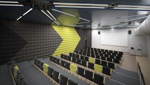 رندر کلاس درس آمفی تئاتر A7AI5307