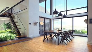 دانلود رندر ویلا خانه کامل میز غذاخوری پاسیو ZA6AE2901