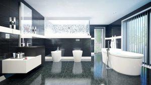 دانلود رندر ویلا خانه کامل مدرن حمام دستشویی وان روشویی بیده ZA6AE2901