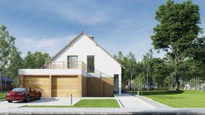دانلود رندر ویلا کامل خانه کامل چمن سنگفرش جنگل درخت ZA6AE3101