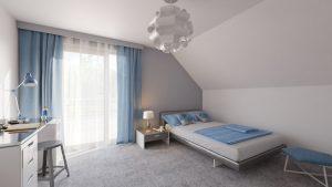 دانلود رندر ویلا کامل خانه کامل مدرن اتاق خواب میز کار ZA6AE3101