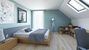 دانلود رندر ویلا کامل خانه کامل مدرن اتاق خواب مدرن زیر شیروانی تختخواب آباژور مدرن کتابخانه ZA6AE3101