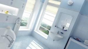 صحنه دستشویی حمام آیینه حوله وان مدل آماده رندر | A7AI0101