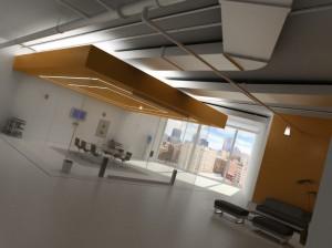 صحنه اتاق کنفرانس اداری فضای انتظار نشیمن مبل راحتی مدل آماده رندر | A7AI0309