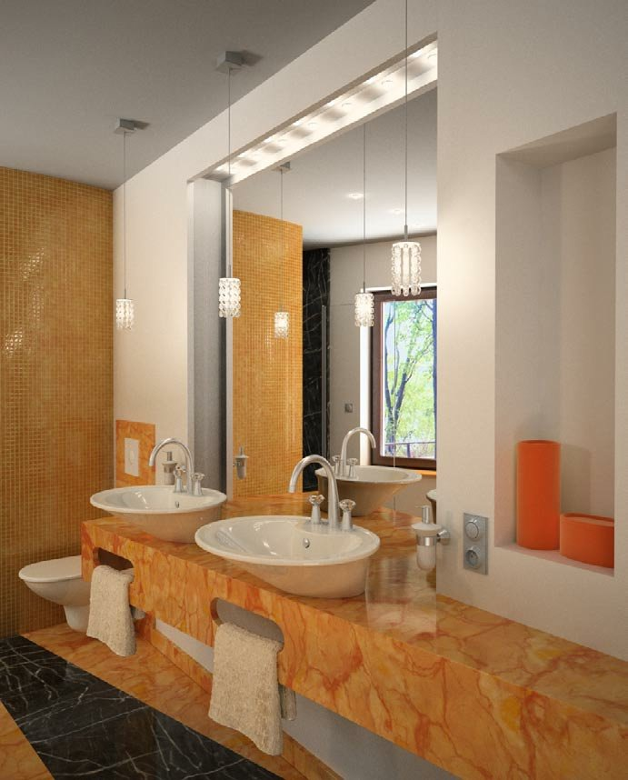 رندر دستشویی روشویی