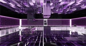صحنه استودیو تبلیغاتی فانتزی شیشه ای مدل آماده رندر | A7AI0904