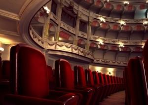 صحنه اپرا تالار سینما تئاتر معماری گوتیک رومی بیزانس مدل آماده رندر | A7AI2309