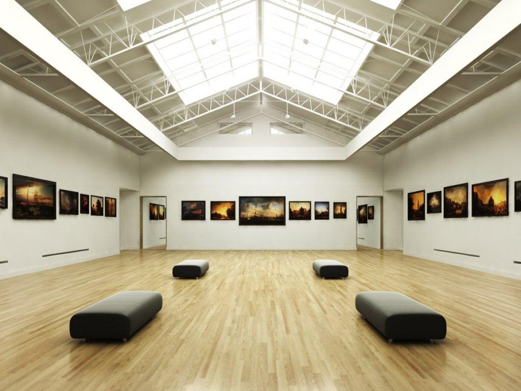 رندر گالری تابلو عکس