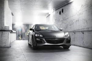 صحنه فضای عمومی پارکینگ طبقاتی ماشین مزدا سیکس مدل آماده رندر | A7AI2507
