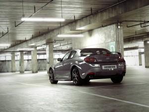 صحنه فضای عمومی پارکینگ ماشین مزدا سیکس سیلور مدل آماده رندر | A7AI2508