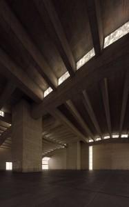 صحنه سالن سوله بتونی مسقف مدل آماده رندر | A7AI2606