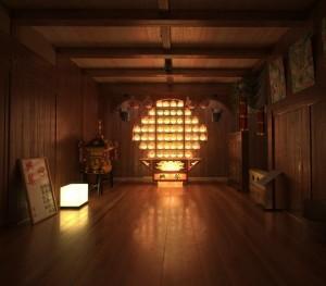 صحنه اتاق چینی ژاپنی تمام چوب مدل آماده رندر | A7AI2801