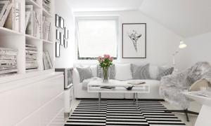 دانلود رندر اتاق نشیمن اتاق تلویزیون کتابخانه مدرن مینیمال صنلی راحتی پرزدار گلدان گل مدل آماده رندر تری دی مکس وی ری | A7AI3004