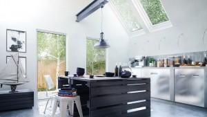 دانلود رندر آشپزخانه مدرن دکور مدل آماده رندر تری دی مکس وی ری | A7AI3010