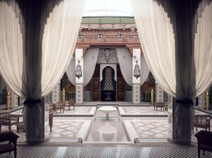 دانلود رندر معماری شرقی رستوران معماری اسلامی A7AI3104