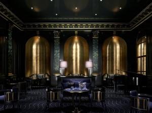 صحنه لاکچری اتاق پذیرایی آباژور اتاق هتل میز غذاخوری پیانو مدل آماده رندر | A7AI3206