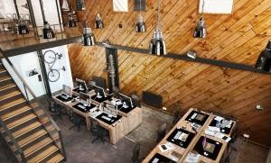 دانلود رندر آفیس مدرن شرکت مدرن اتاق کارمند دکوراسیون چوب مدل آماده رندر تری دی مکس وی ری | A7AI3301