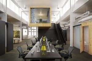 دانلود رندر اتاق جلسات دفتر کار آفیس طراحی مدرن اتاق مدیر میز مدیر مدل آماده رندر تری دی مکس وی ری | A7AI3307