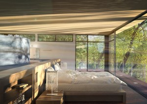 دانلود رندر هتل اتاق خواب تخت خواب ویلا دوبلکس آباژور مدل آماده رندر تری دی مکس وی ری | A7AI3504