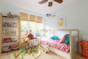 دانلود رندر اتاق خواب بچه اسباب بازی بچه تخت خواب بچه مدل آماده رندر تری دی مکس وی ری | A7AI3505