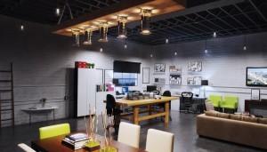 دانلود رندر شرکت آفیس طراحی مدرن مینیمال میز جلسه مدل آماده رندر تری دی مکس وی ری | A7AI3605