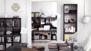 دانلود رندر اتاق طراحی مدرن کتابخانه باد شدید اتاق آفیس طراحی مدل آماده رندر تری دی مکس وی ری | A7AI3609