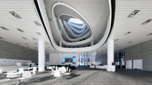 دانلود رندر فرودگاه ایستگاه قطار رستوران فودکورت مدل آماده رندر تری دی مکس وی ری | A7AI3802