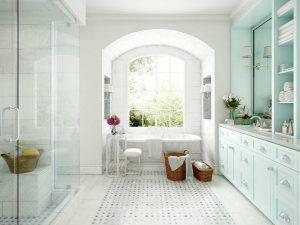 دانلود رندر حمام کلاسیک دستشویی روشویی مدل آماده رندر تری دی مکس وی ری | A7AI3905