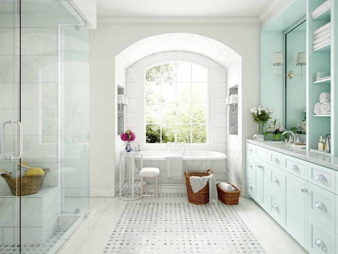 دانلود رندر حمام کلاسیک دستشویی