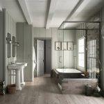 دانلود رندر دستشویی کلاسیک چوب حمام روشویی مدل آماده رندر تری دی مکس وی ری | A7AI3908