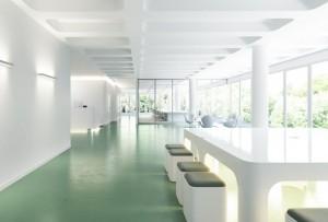 دانلود رندر آفیس مدرن بیمارستان صندلی مدرن مدل آماده رندر تری دی مکس وی ری | A7AI4003