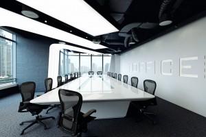 دانلود رندر آفیس میز جلسه مدرن صندلی مدل آماده رندر تری دی مکس وی ری | A7AI4004