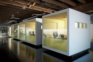 دانلود رندر آفیس مدرن میز طراحی کف سرامیک مدل آماده رندر تری دی مکس وی ری | A7AI4007