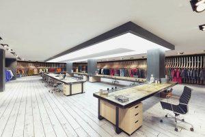دانلود رندر فروشگاه مدرن لباس فروشی مدل آماده رندر تری دی مکس وی ری | A7AI4105