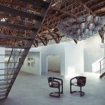 دانلود رندر نمایشگاه گالری نقاشی شوروم مدرن مدل آماده رندر تری دی مکس وی ری | A7AI4106