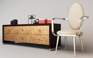 دانلود رندر صندلی میز تلویزیون مدل آماده رندر | A6Cinsa0210