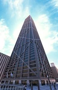 صحنه برج آسمان خراش تجاری بانک مدل آماده رندر | ZA6AE0510
