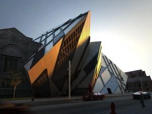صحنه ساختمان تجاری شهری نما چوب فلز شیشه خیابان آسفالت مدل آماده رندر | ZA6AE0810