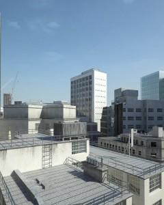 صحنه شهر لندن از بالا ساختمان آسمانخراش برج مدل آماده رندر | ZA6AE1404