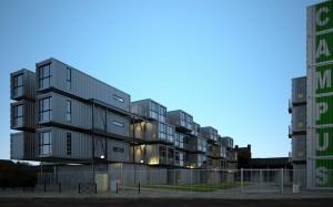صحنه مجتمع مسکونی خاص مدل آماده رندر | ZA6AE1608