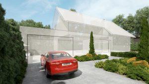 دانلود رندر ویلا جنگل باغچه نورپردازی روز مدل آماده رندر تری دی مکس وی ری | ZA6AE1908
