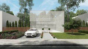 دانلود رندر ویلا چمن باغچه مدل آماده رندر تری دی مکس وی ری | ZA6AE1910