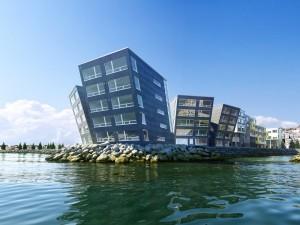 دانلود صحنه هتل رودخانه ویلا مدل آماده رندر | ZA6AE2003