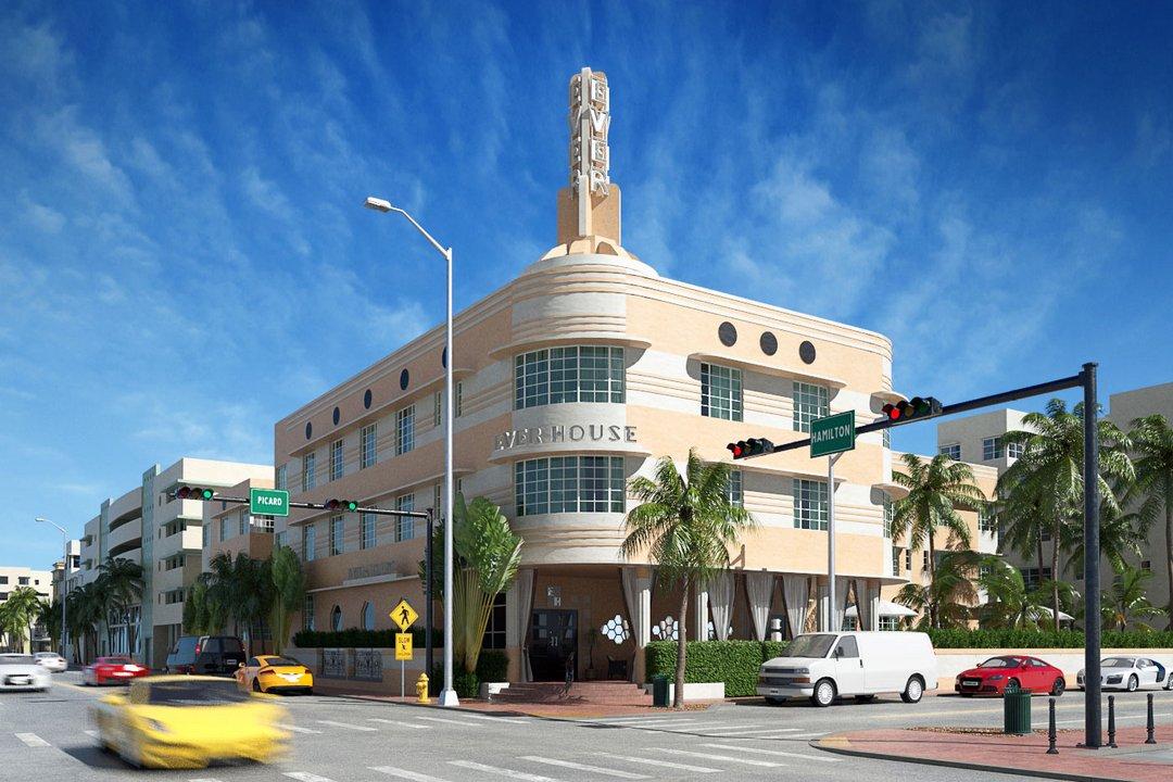رندر ساختمان تجاری