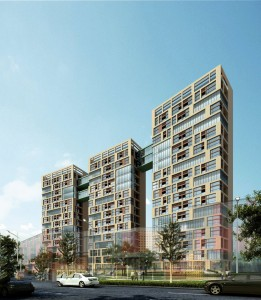 دانلود رندر مجتمع مسکونی سه قولو برج مدل آماده رندر | ZA5Bex0109