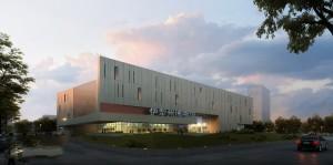 دانلود رندر مرکز خرید لندسکیپ رندر آسمان ابری مدل آماده رندر | ZA5Bex0110